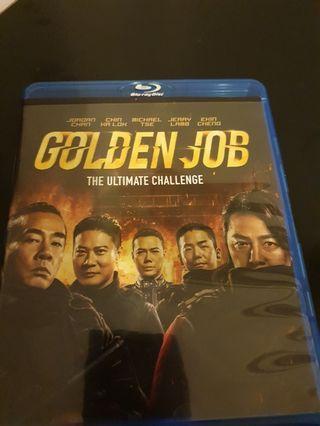 Golden job chinese blu-ray movie