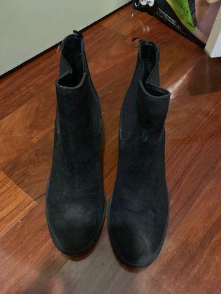 短boot 短靴 高爭 高跟
