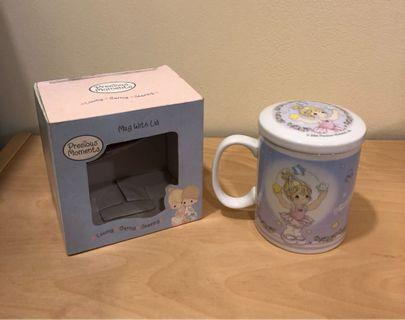 Precious Moments Cup with Lid