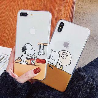 Snoopy Charlie Iphone Case