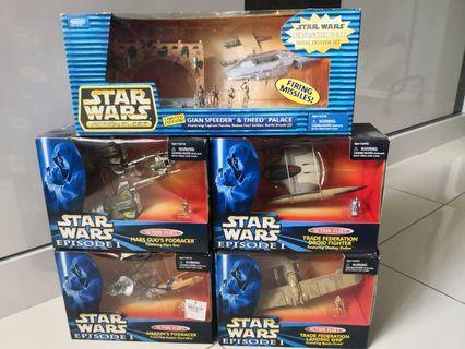 Starwars Episode 1 Toys