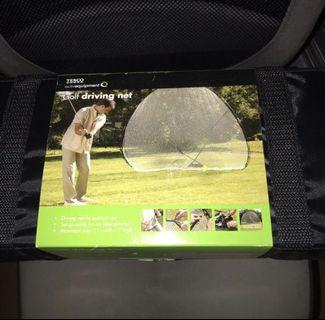 Golf Driving Net with Auto Putt