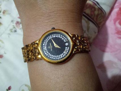 Jam tangan Laurent Dodane Gold Plated