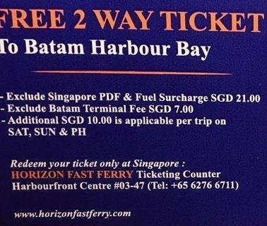 Batam tickets