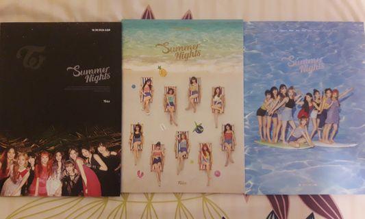 (Ready Stock) Twice - Summer Nights