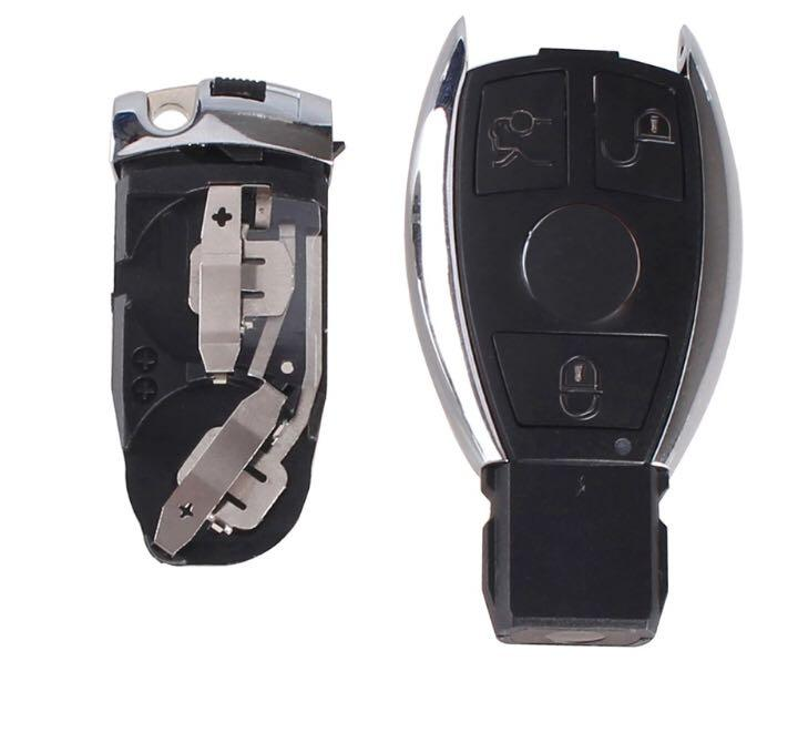 3 buttons remote car key shell cover case for Mercedes Benz.