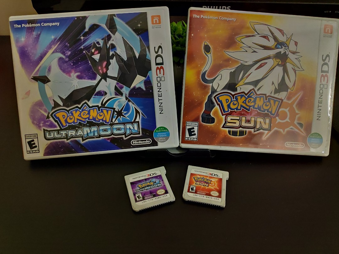 3DS GAMES ] Pokemon Sun & Ultra Moon, Video Gaming, Video Games on Carousell