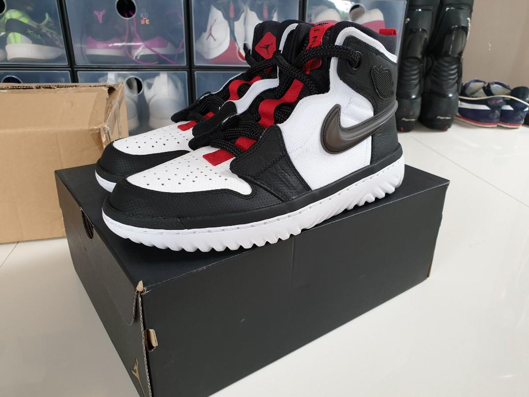 Air Jordan 1 High React 'Black/White