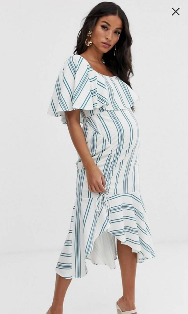 low priced buy popular factory authentic ASOS MATERNITY DRESS- UK-18, Women's Fashion, Clothes, Dresses ...