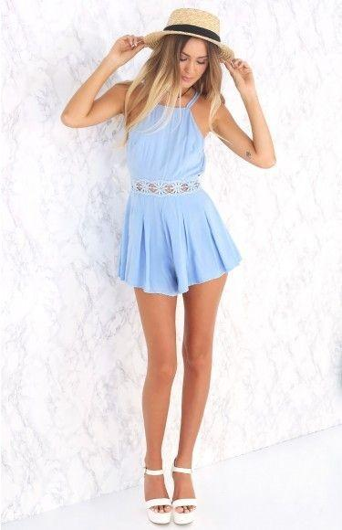 browse latest collections luxury aesthetic preview of Beginning Boutique Carolina playsuit, Women's Fashion ...