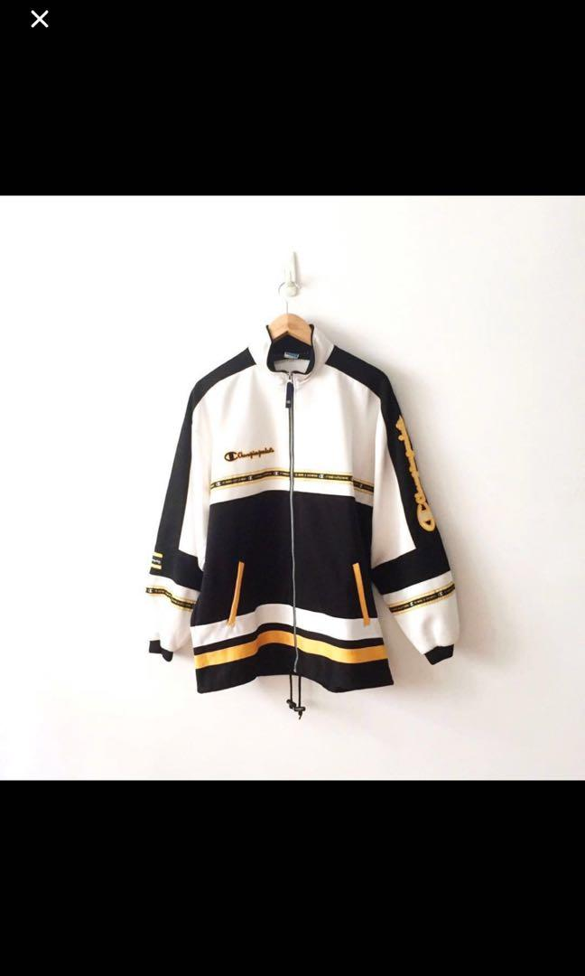 Champion vintage spell out jacket