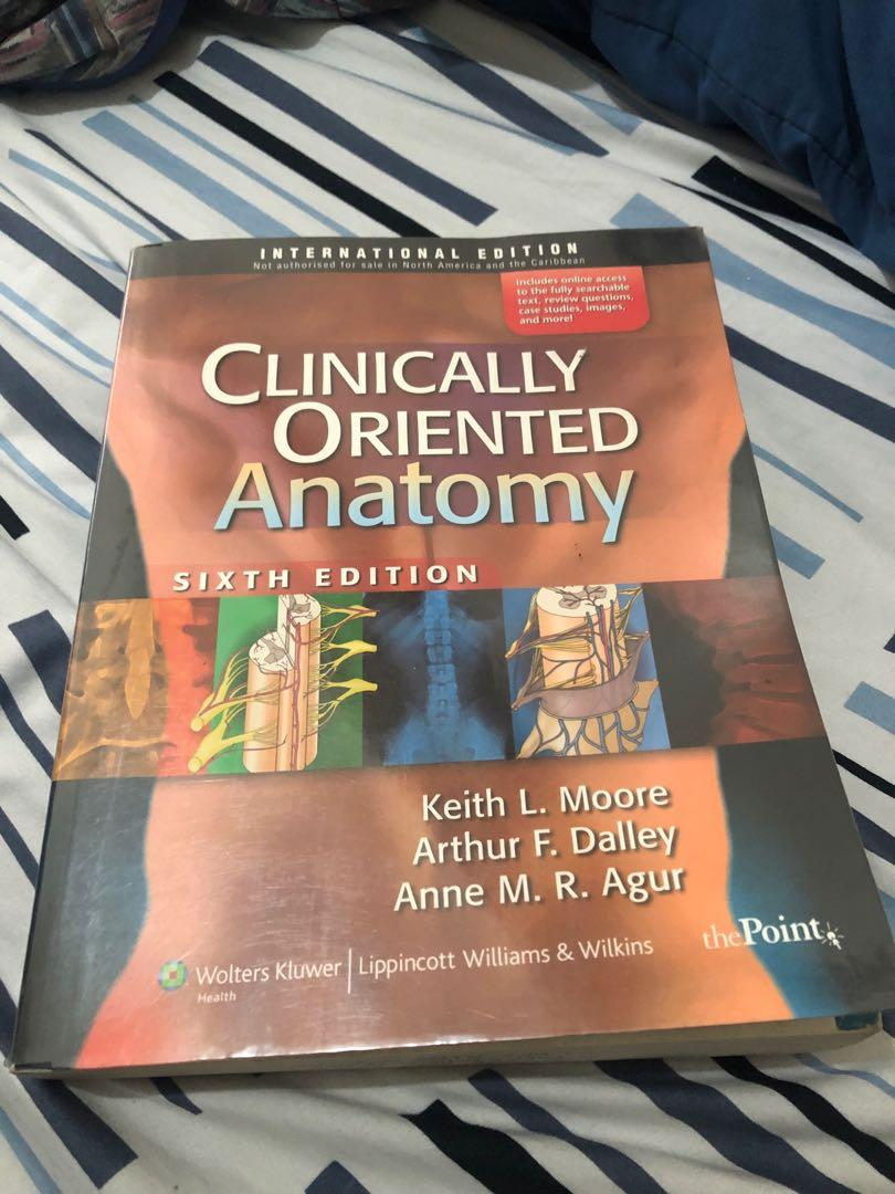 Clinically Oriented Anatomy 6th Edition - Moore, Dalley, Agur (International Edition)