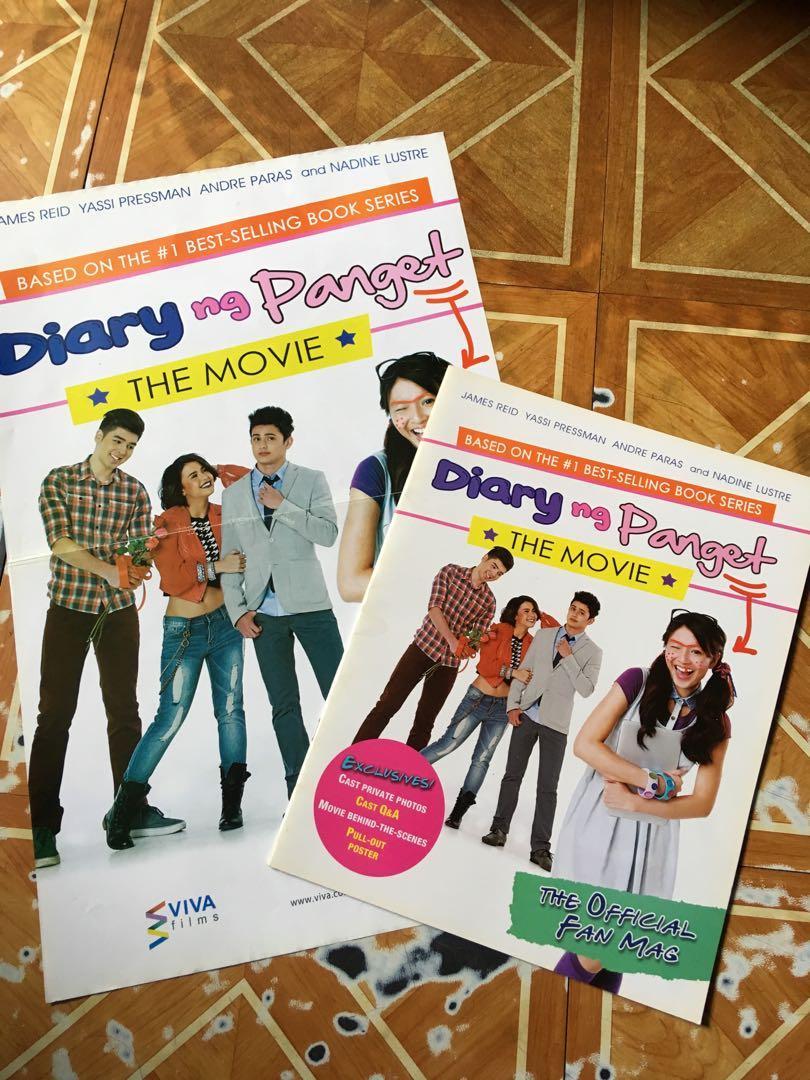 Diary ng Panget (Book 2-4) and LIMITED EDITION Diary ng Panget Magazine and Poster