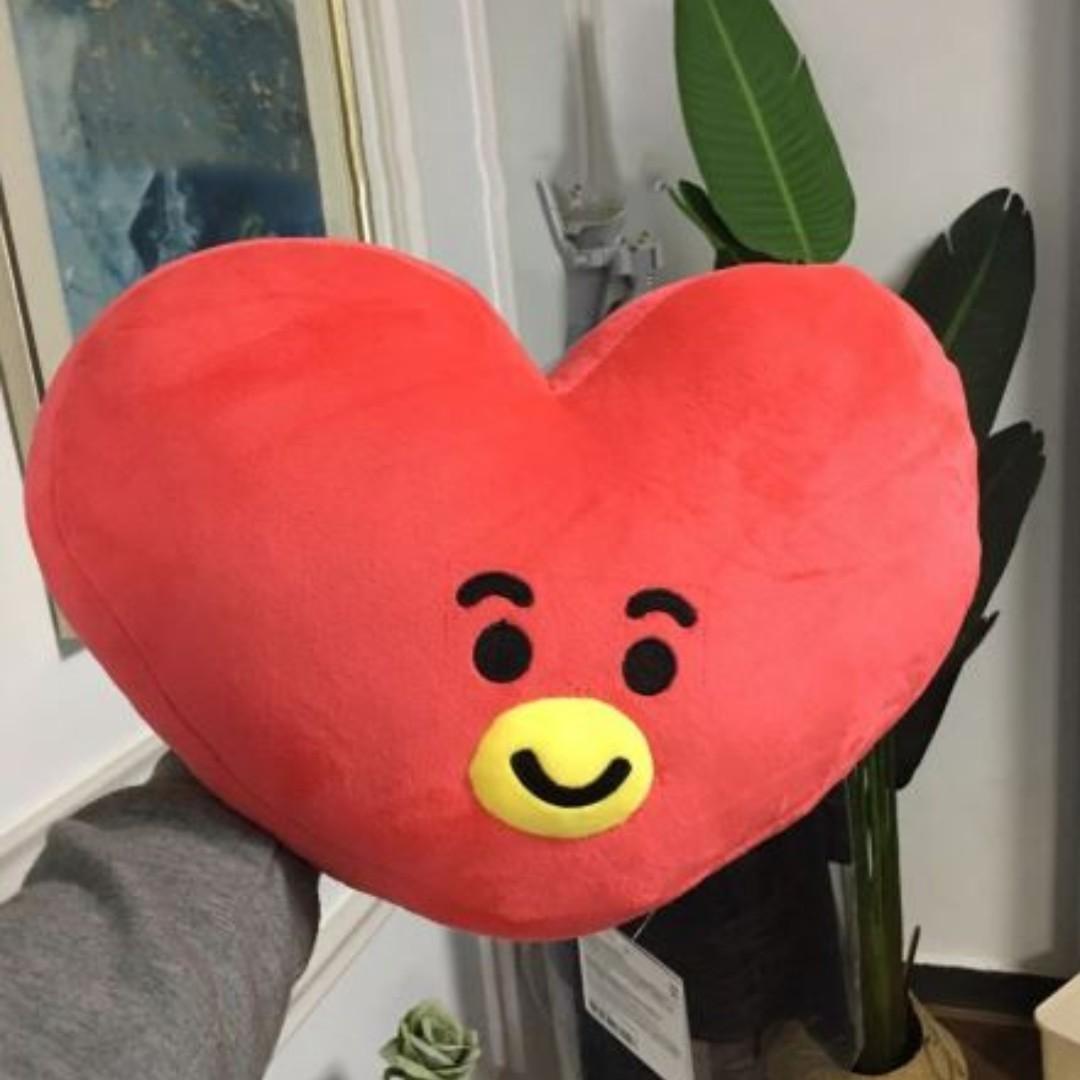 FREE SHIPPING 35cm KPOP BTS Bangtan bt21 Pillow Smile Doll cushion Plush Toy