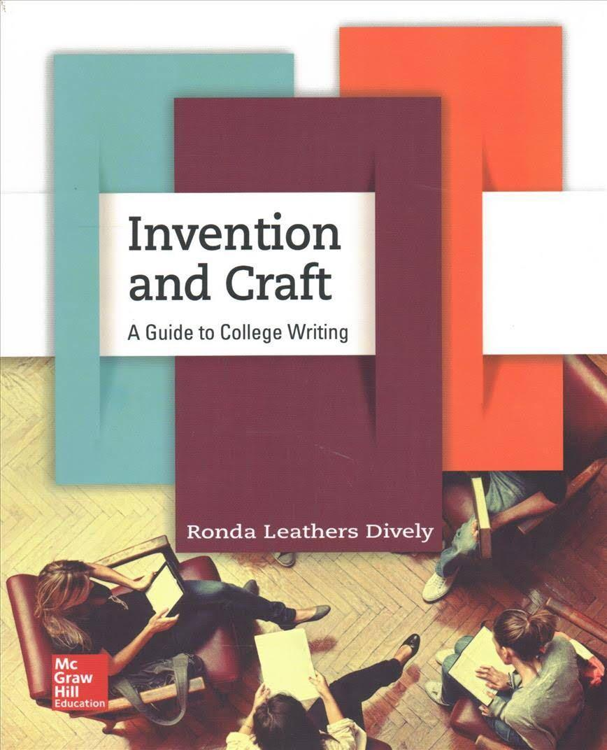 Invention and craft: a guide to college writing on Carousell