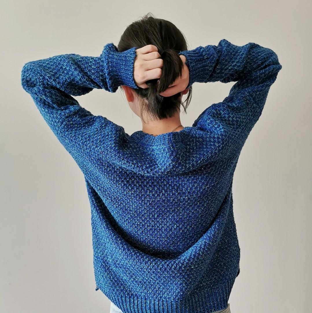 Knit Blue Sweater
