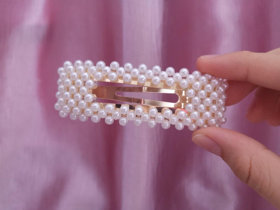 Korean pearl hairpin