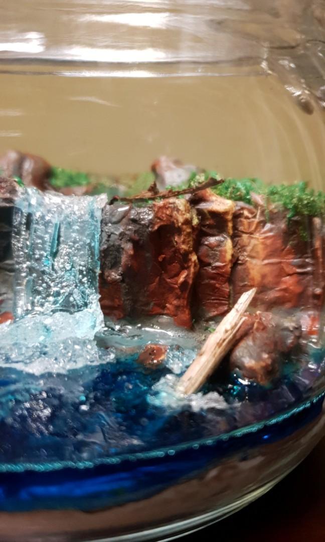 LANDSCAPE & Waterfall Terrarium