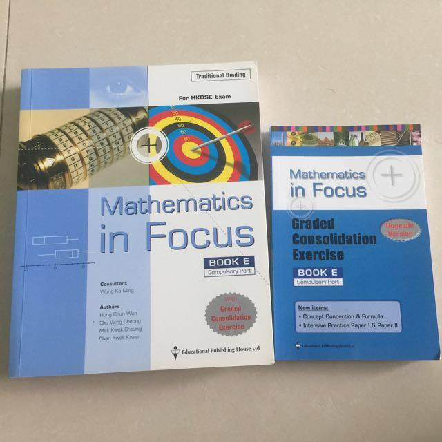 Mathematics in focus (book B and E)