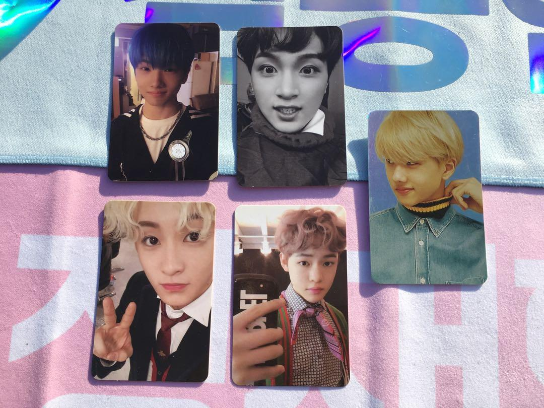NCT Dream Official Album Photocards / Sum Hologram