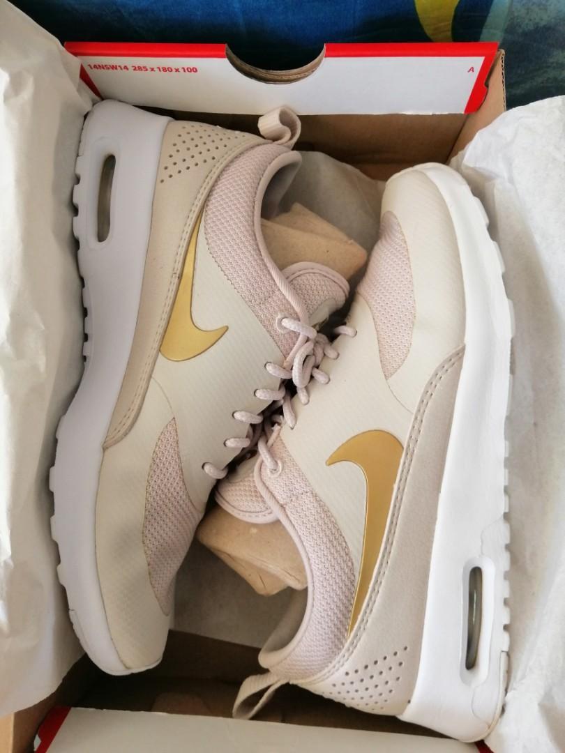 Nike Air Max Thea Sand Gold, Women's