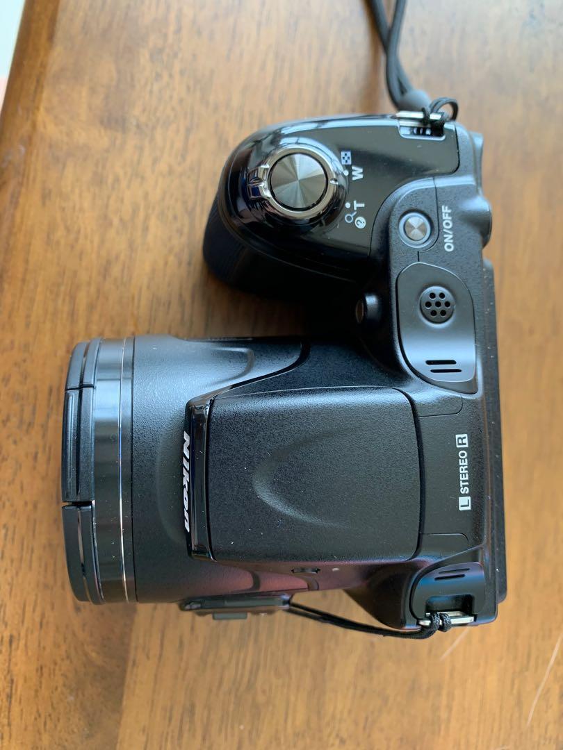 Nikon coolpix L820, 1080p Full HD digital camera