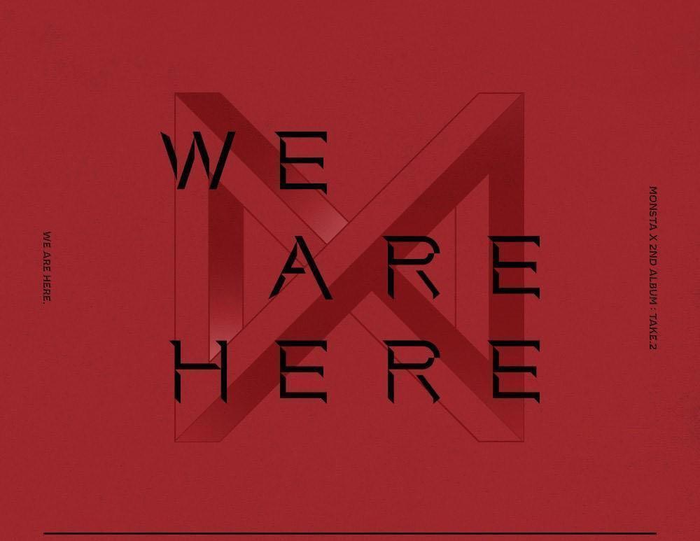 [PO] MONSTA X Take 2 : WE ARE HERE Album