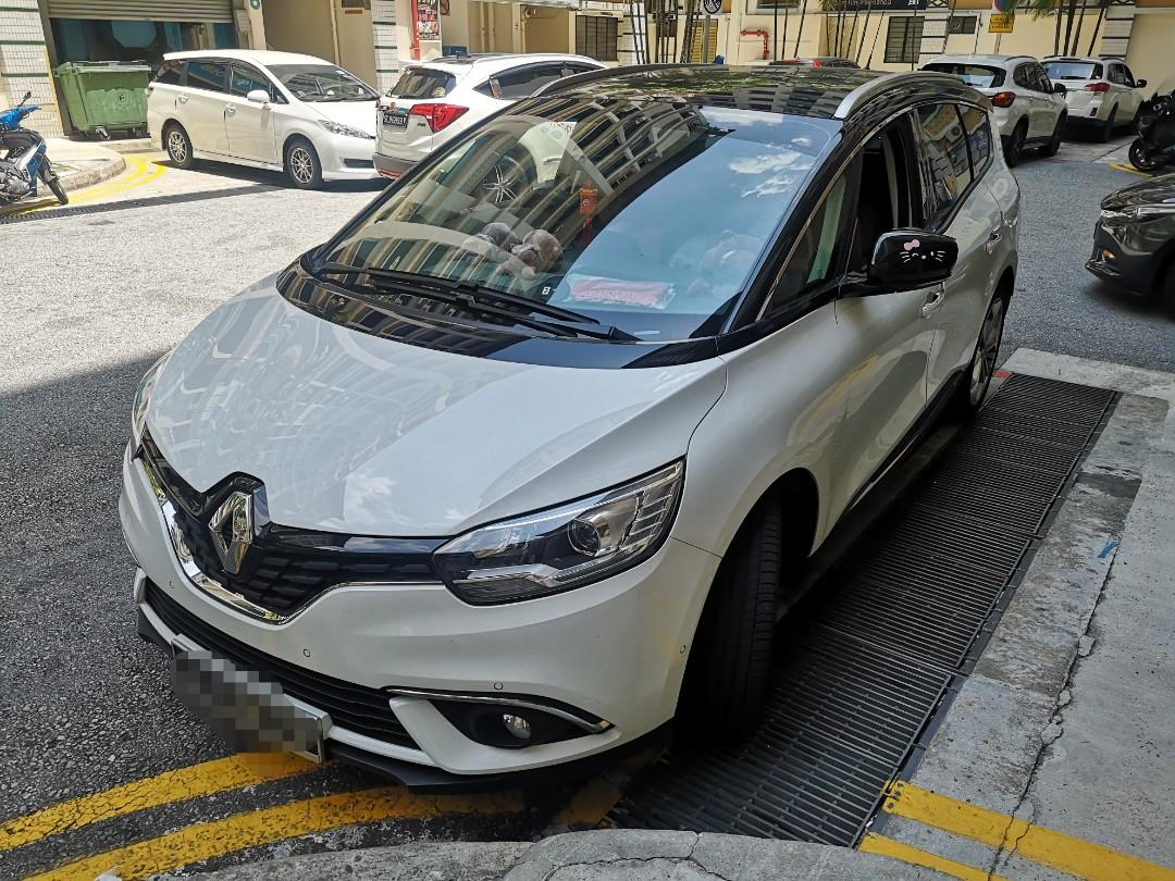 Renault Grand Scenic 2018 version 7 seater for rent