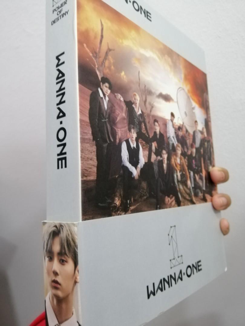 SIGNED ALBUM WANNA ONE POWER OF DESTINY KANG DANIEL PARK JIHOON