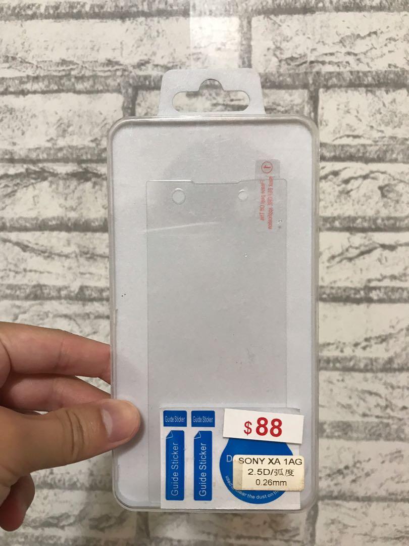 Sony xa1 手機膜 50 只有一個
