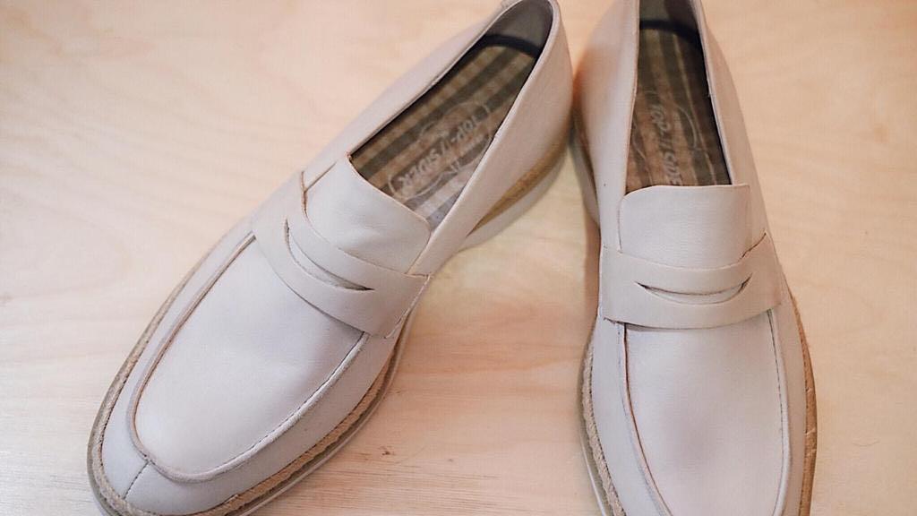 Sperry cream shoes sepatu