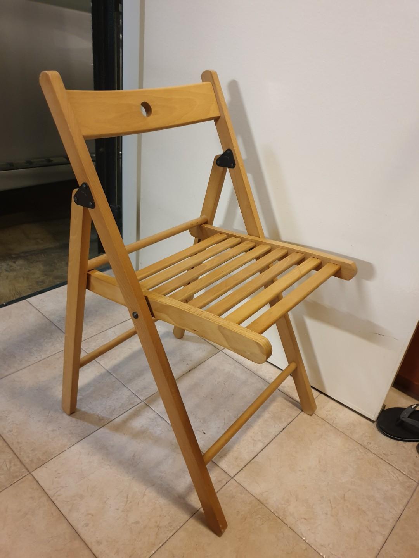 Terje Foldable Chair Ikea On Carousell