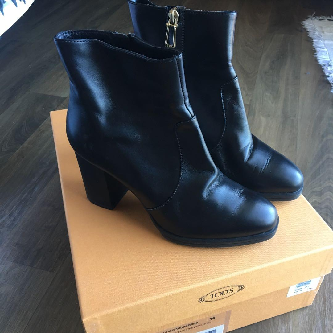 Tod's Gomma Leather Boots