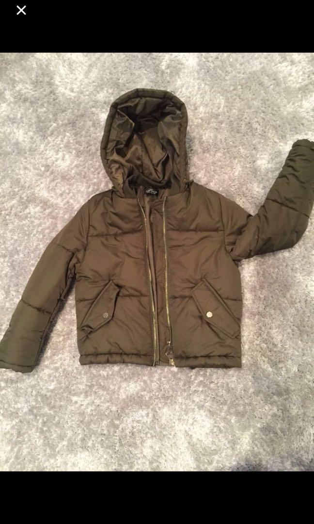 Topshop jacket, never wore, bought a wrong size. was paid $85