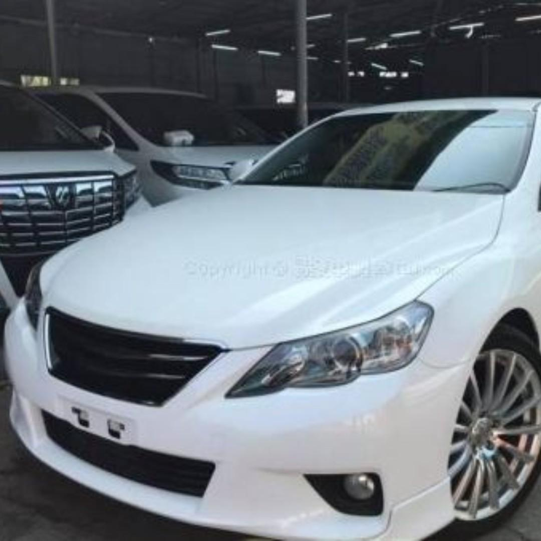 TOYOTA MARK X S PACKAGE 2012