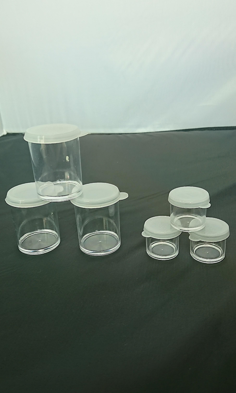 Tube plastic container