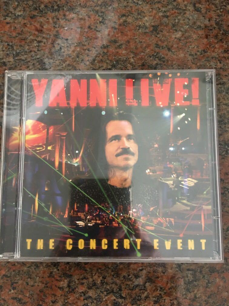 Yanni Live CD, Music & Media, CDs, DVDs & Other Media on