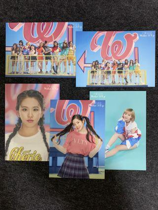 🚚 TWICE JAPAN CLEARANCE: Assorted Official Trading Card