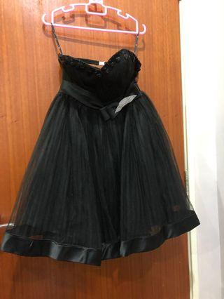 Black Tutu Dinner Dress