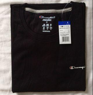 Authentic Champion Black Small Scripted Shirt