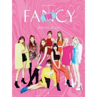 (Ready Stock)Twice - Fancy Poster
