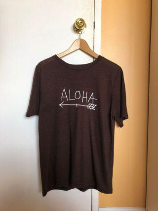 Women's cute aloha t shirt