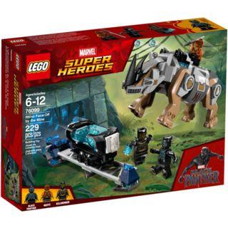 LEGO Rhino Face-Off by the Mine (76099)
