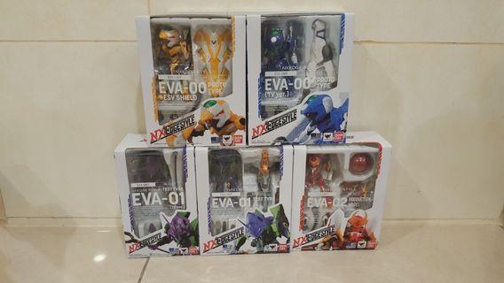 NXedge series Evangelion set