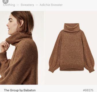 Aritzia Babaton Adichie Sweater Size: Small