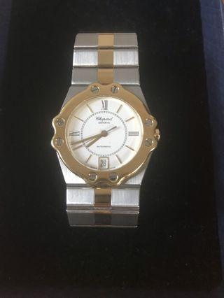 Chopard 18K Gold and Stainless Steel Watch