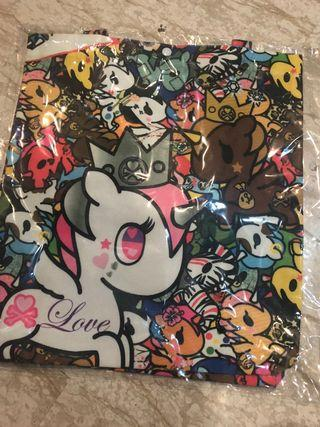 BNIP Tokidoki canvas printed tote bag