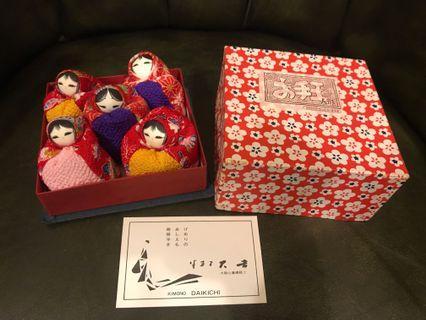 日本和服沙包娃娃 祈福多子多孫