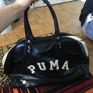 Vintage puma bowling bag