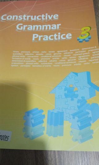 Constructive grammar practice